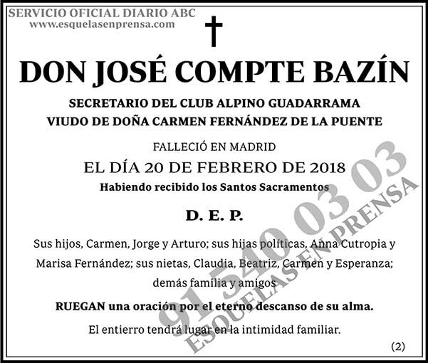 José Compte Bazín